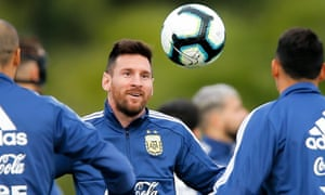 Lionel Messi's Argentina have gone 26 years without winning a major senior tournament.