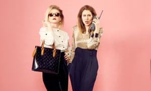 Nobody Panic podcast hosts Tessa Coates and Stevie Martin