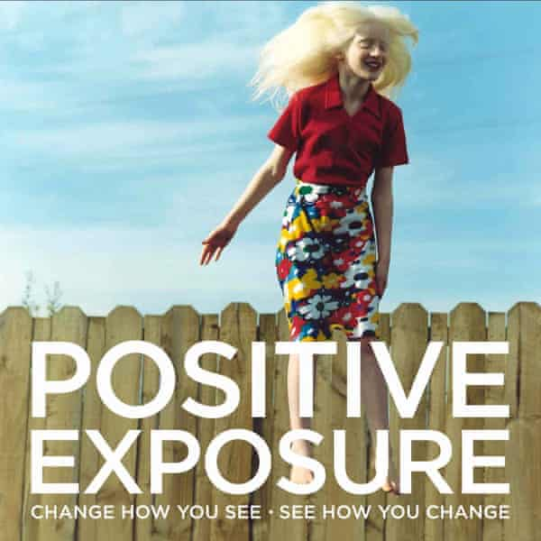A poster from the Positive Exposure exhibition 2015