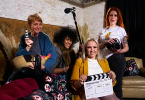 Emma, Anita, Sarah-Louise and Sarah (l-r) in Mums Make Porn.