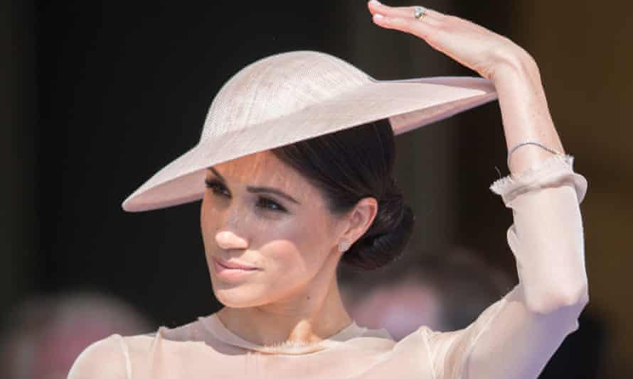 The Duchess of Sussex has 'captured the public imagination', Vogue says.