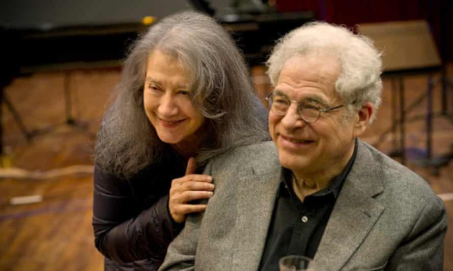 Martha Argerich and Itzhak Perlman