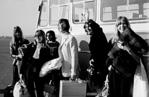 Marilyn Silverstone: Delhi Palam airport, India 1968