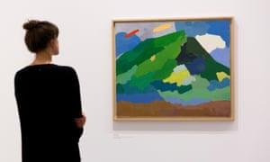 Etel Adnan at Serpentine Gallery