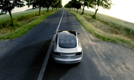 Tesla's cut-price Model 3.