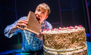 Fizzes with dramatic potential … Michael Rosen's Chocolate Cake with Mark Houston as the lead.