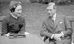 The Duke and Duchess of Windsor in 1937. Edward VIII Sitting with Wallis Simpson(Original Caption) 1937- France: Edward VIII, Duke of Windsor, sits with his wife Wallis Simpson at the Chateau de Cands in France. Photo shows a close-up view of the couple.