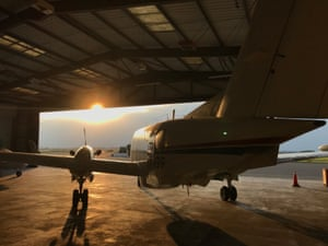 Ordnance Survey mapping plane.