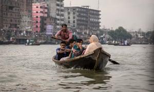 Boat on a Bangladeshi waterway