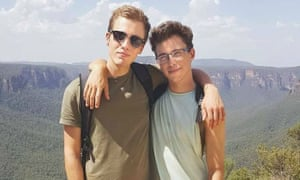 Hugo Palmer and Erwan Ferrieux the two missing backpackers' belongings and their car were found at a beach on NSW's mid-north coast.