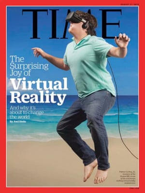 Palmer Luckey's Time magazine cover.