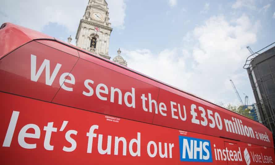 The Vote Leave battle bus