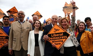 Vince Cable and  three new MEPs Irina von Wiese, Dinesh Dhamija and Luisa Porritt on Monday.