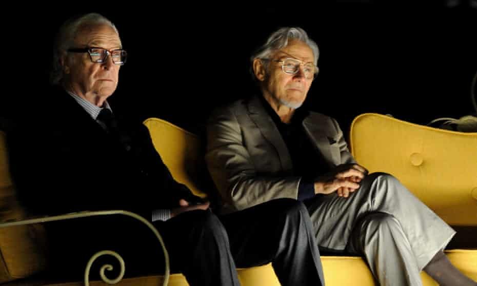 Cantankerous … Michael Caine and Harvey Keitel in Youth.