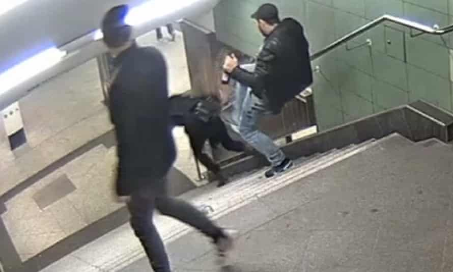 CCTV image released by Berlin police.