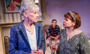 Fierce confrontations … from left, Anita Dobson, Maisie Richardson-Sellars and Debbie Chazen in 3 Women.