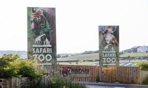 A general view of South Lakes Safari zoo.