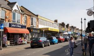 Burnham-on-Sea high street
