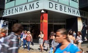Debenhams has already issued three profit warnings this year.