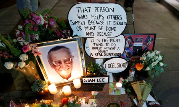 The greatest superpower is luck': Stan Lee in quotes | Books
