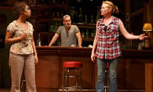 A scene from the 2016 production of Sweat at New York's Public Theater.