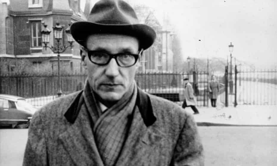 William Burroughs, author of cult novel The Naked Lunch.