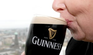 Guinness ... fishing for new customers.