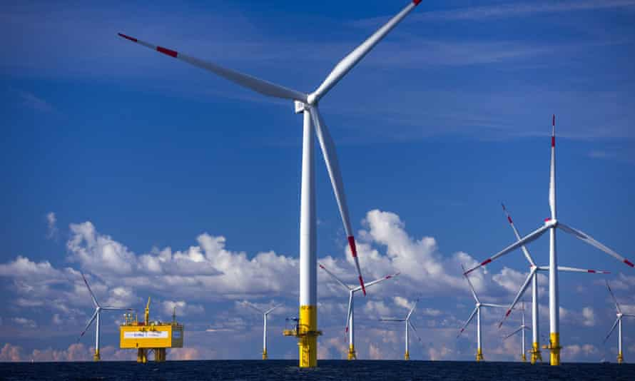More than 3,000 megawatts of offshore wind power was connected to the European grid last year, with the vast majority coming from Germany.