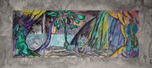 The Caged Bird's Song by Chris Ofili.