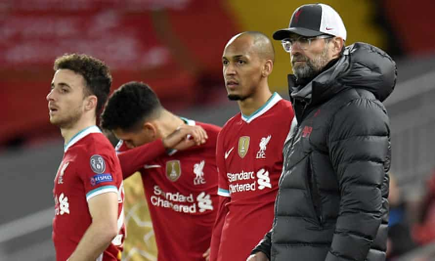 Klopp will ban Liverpool players from internationals if they face quarantine | Liverpool | The Guardian