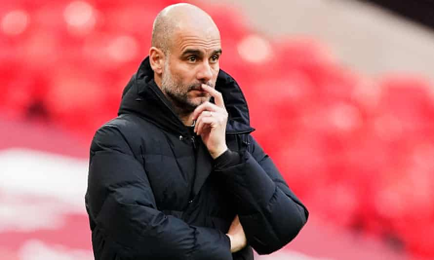 Pep Guardiola, manager of Manchester City, said of the ESL, 'it is not a sport when it doesn't matter whether you lose'.