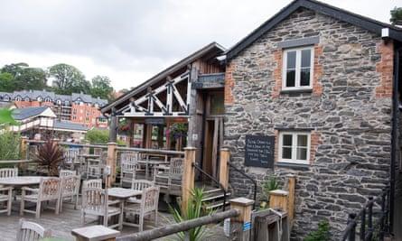 The Cornmill Pub, Llangollen, wales