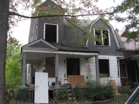 Starting bid for this house in Detroit: $500.