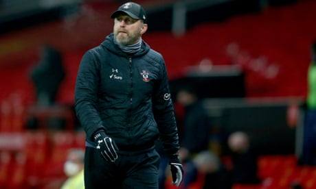 'We lost again in a horrible way': Saints' Hasenhüttl rues Old Trafford rout
