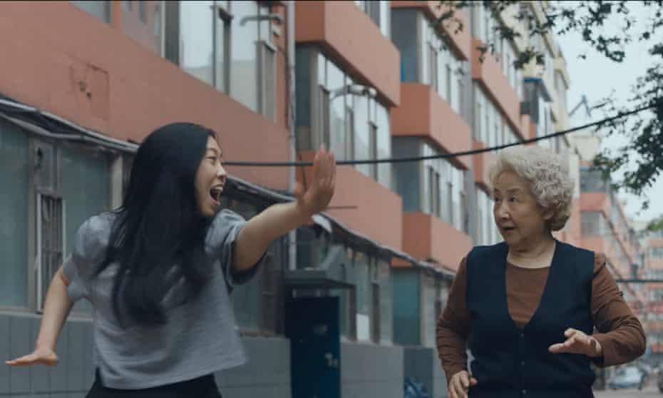 Awkwafina (Billi) and Zhao Shuzhen (Nai Nai) in Lulu Wang's 'bittersweet' The Farewell.