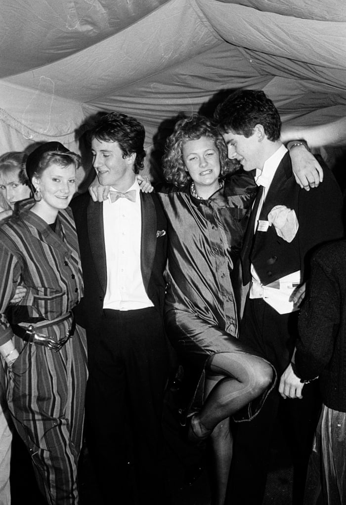 From Hugh Grant To David Cameron To Nigella Lawson Oxford Partying In The 80s In Pictures Education The Guardian