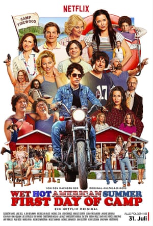 The poster for Wet Hot American Summer – First Day Of Camp