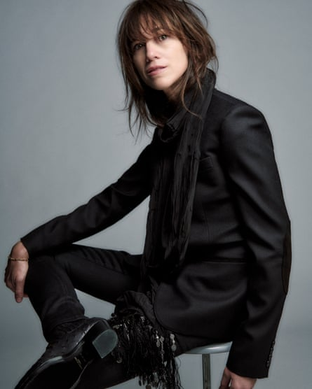 All clothes: Saint Laurent by Anthony Vaccarello.