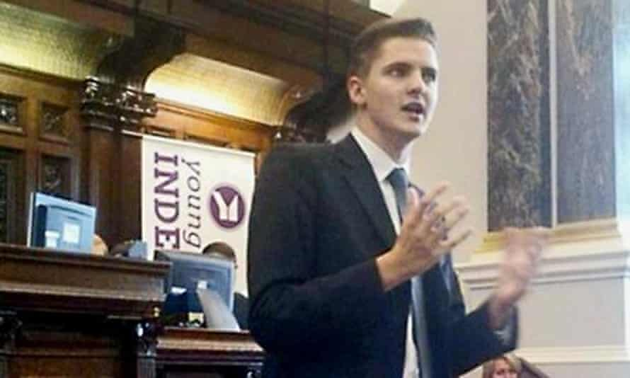 Tom Booker has resigned as chair of the Ukip LGBT group.