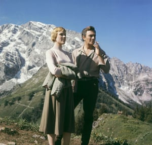 Plummer with Julie Andrews in The Sound Of Music – 'the most popular role I've ever done'.