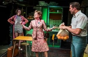 Matthew Needham, Bernice Stegers as Ma and Dino Fetscher as Ed.