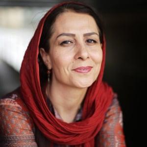 Iranian author Fereshteh Ahmadi