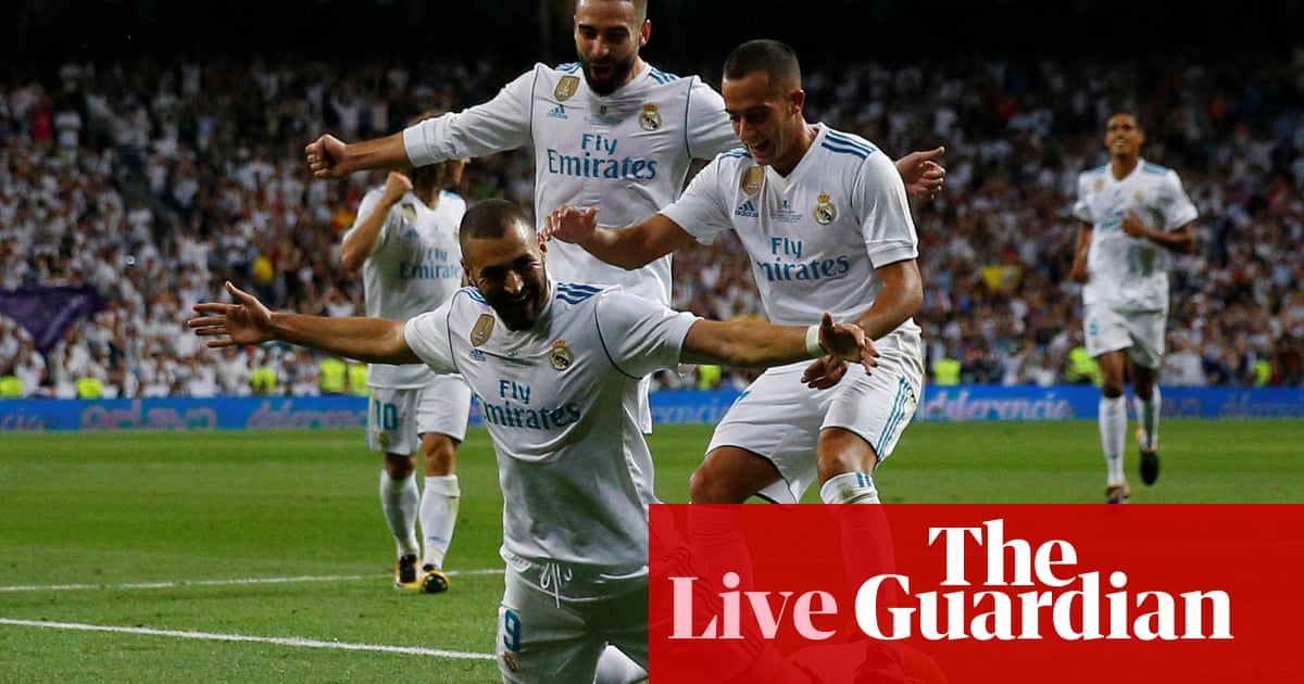 Real Madrid 2-0 Barcelona  Spanish Super Cup 01a6135aeef57