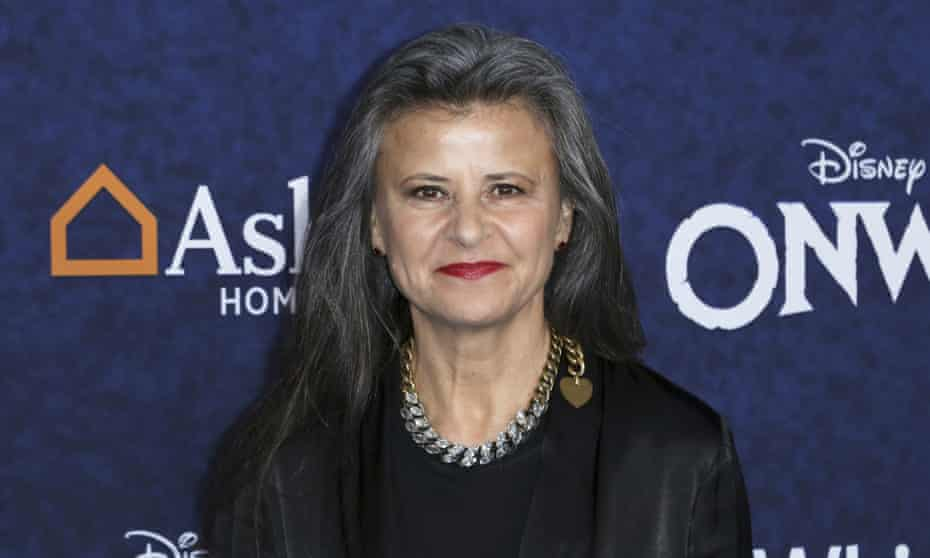 Tracey Ullman at a film premiere in 2020.