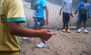 Child asylum seekers on Nauru