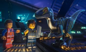 Dino beats dragon … The Lego Movie 2: The Second Part.