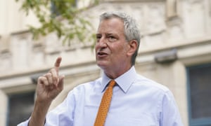 New York mayor Bill de Blasio furloughs himself and staff to ease $7bn budget crisis