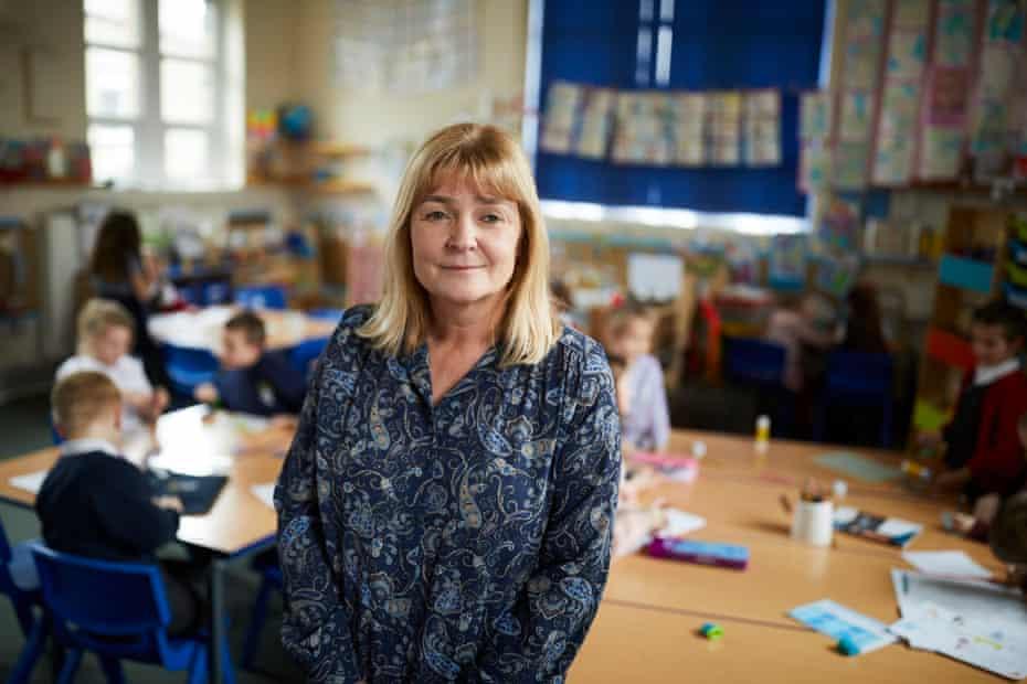 Judy Shaw, head of Tuel Lane infant school
