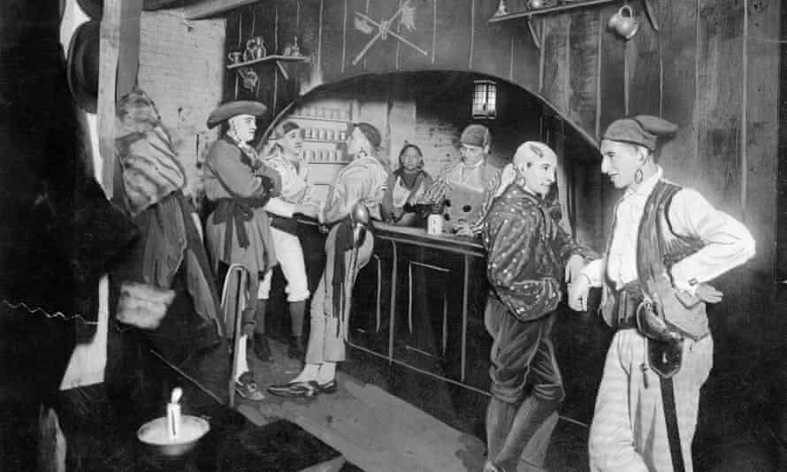 Casting calls in gay bars … The Pirate's Den, a gay club in 1920s New York.