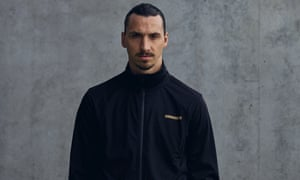 'The clothes are basic. They are for everyone of every background' – Ibrahimovic models his new range, A-Z.